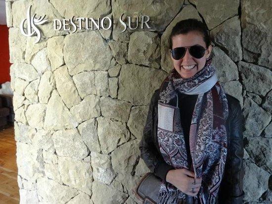 Hotel Destino Sur: Puerta