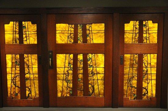 Dallas Museum of Art: The amazing Blacker House doors by Greene and Greene