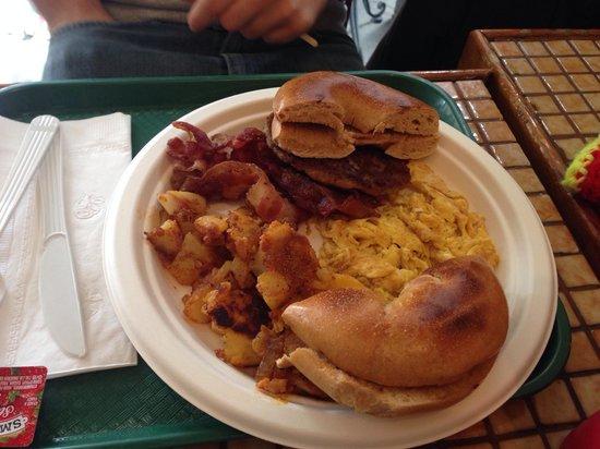 Columbus Bagel Cafe New York Ny