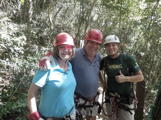 Campo Rico Ziplining Adventure : Go on an adventure and have fun too.