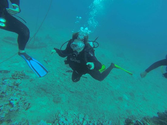 Rainbow Scuba Hawaii: Look, Mom!  Woohoo!!!!!!