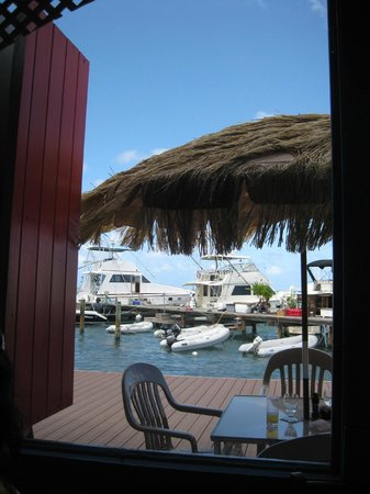 Angry Nate's: View from the restaurant
