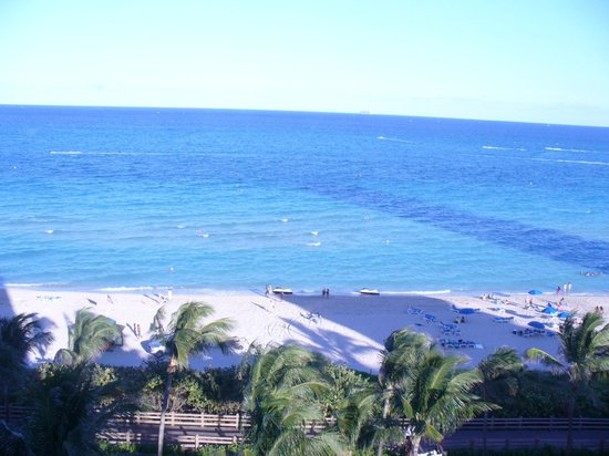 Holiday Inn Miami Beach: The view from our room on the 10th floor