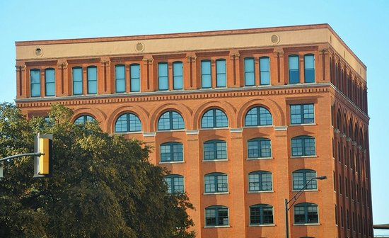 The Sixth Floor Museum/Texas School Book Depository: You can see the window that Oswald shot Kennedy from