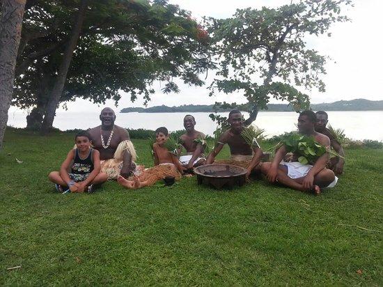 Shangri-La's Fijian Resort & Spa: kava ceremony