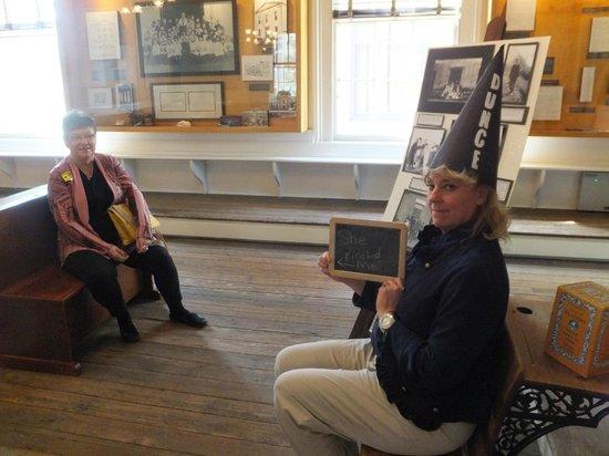 Massie Heritage Center: Fun in the schoolroom