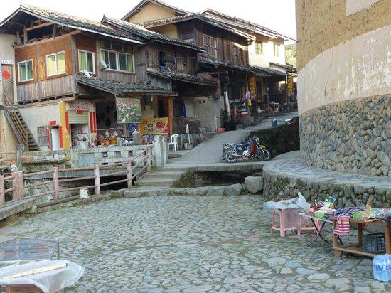 Chuxi Tulou entrance