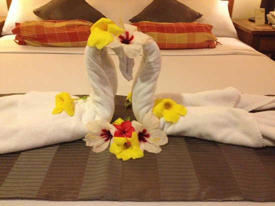 Best Western Boracay Tropics Resort: lovely greetings