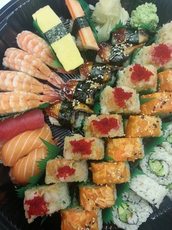 Mr. Kim's Sushi & Rolls: Party tray
