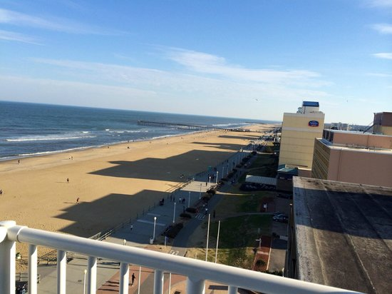 Comfort Inn & Suites Oceanfront : Wonderful view from the 10th floor