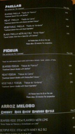 Plan B: Paellas & Fideua