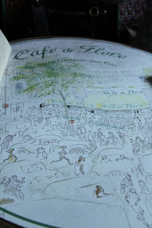 Café de Flore : Lovely drawing