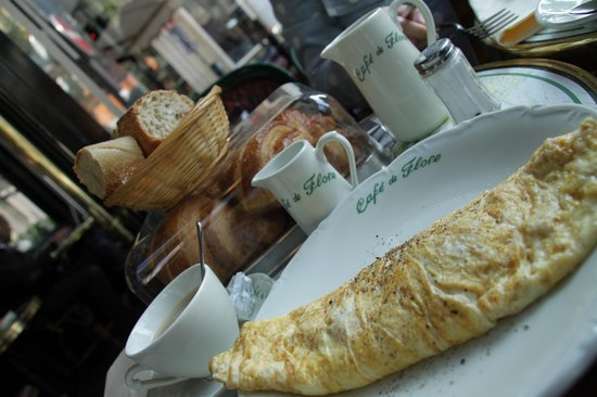 Café de Flore : Good spread
