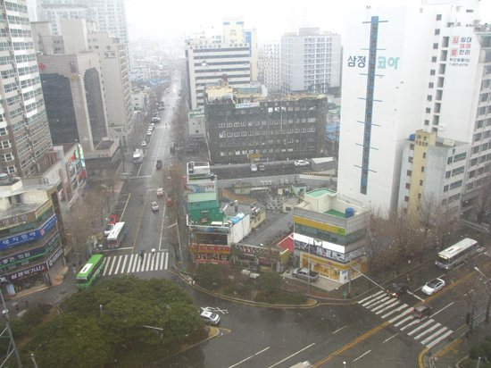ibis Ambassador Busan City Centre : View from our room