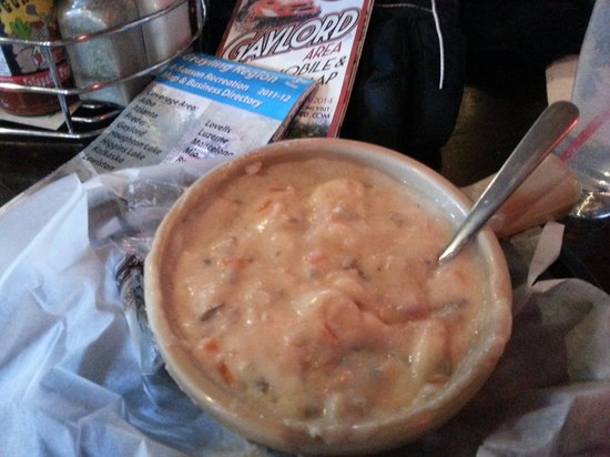 Spike's Keg 'O' Nails: Outstanding Chicken & Wild Rice Soup!