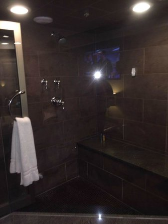 Champagne Lodge and Luxury Suites: steam room