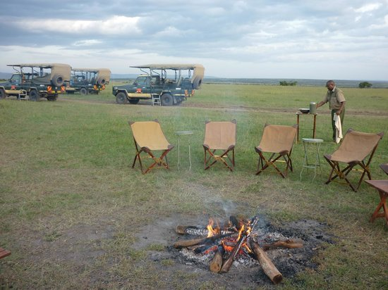 Elephant Pepper Camp: Sundowners in style