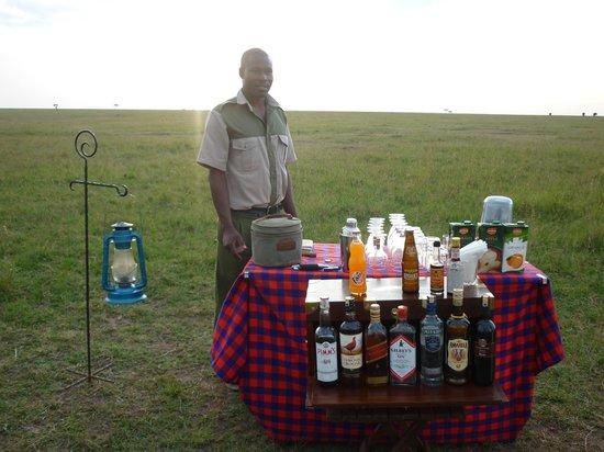 Elephant Pepper Camp: A full bar at Sundonwers.