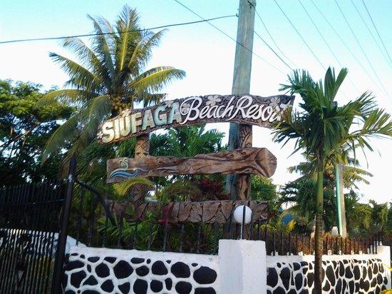 Amoa Resort: Siufaga Beach Resort