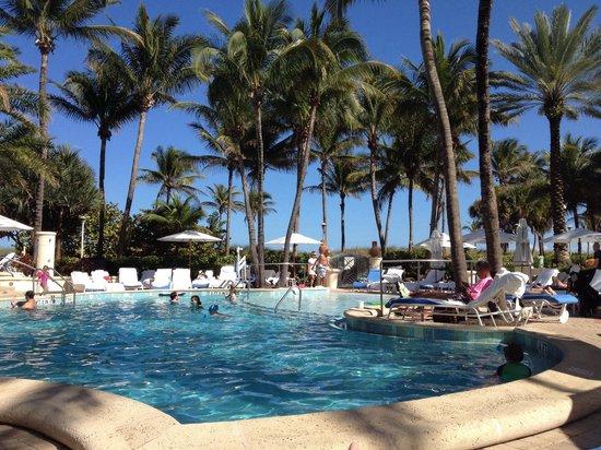 Loews Miami Beach Hotel : Pool area