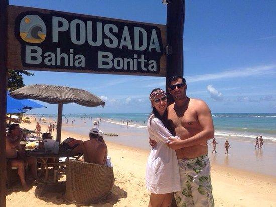 Pousada Bahia Bonita: Praia da pousada!