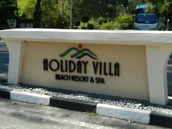 Holiday Villa Beach Resort & Spa Langkawi: entrance