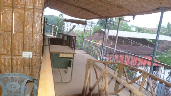 Ashtamudi Homestay: View from Balcony