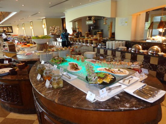 Hilton Colombo : part of buffet