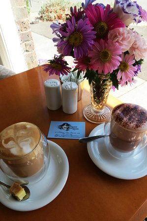 Coffee and Hot chocolate at The Austen Tea Room