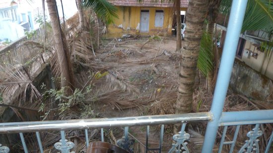 Ashtamudi Homestay : View from Balcony