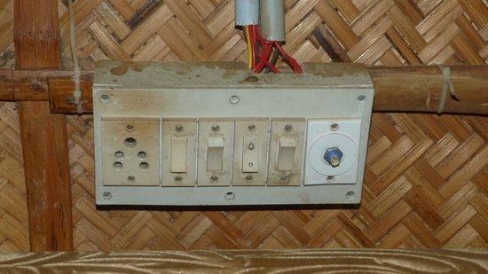 Ashtamudi Homestay : Dubious electrics