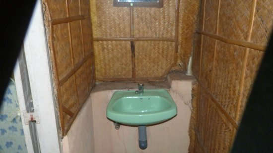Ashtamudi Homestay: Dirty dingy wash area