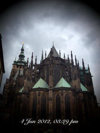 Château de Prague : St Vitus Cathedral