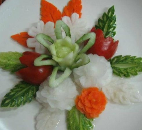 Fruit Carving Chiangmai Boom