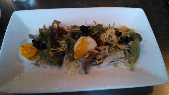 Bent Brick: Truffle salad