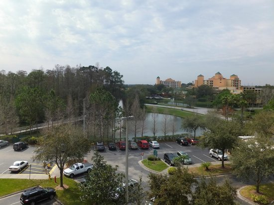 Vacation Village at Parkway: our view from 6th floor, bld 1