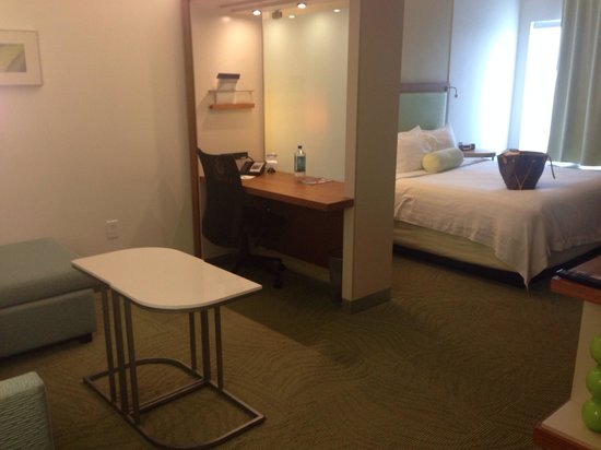 SpringHill Suites Houston Intercontinental Airport : Suite