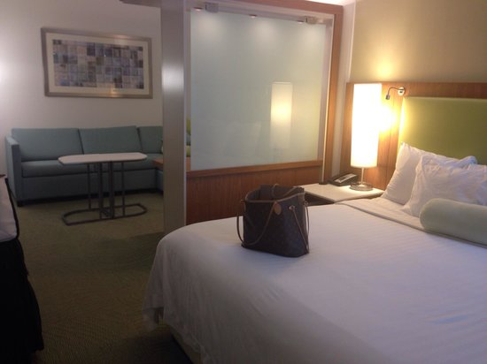 SpringHill Suites Houston Intercontinental Airport: Suite