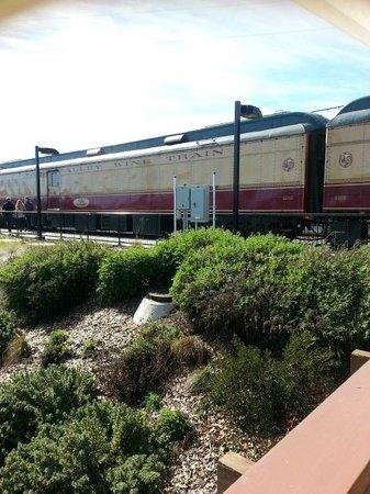 Napa Valley Wine Train: The Train