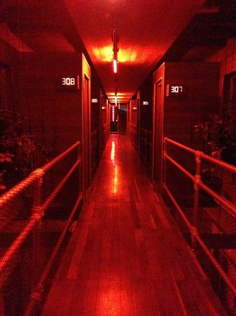 Reina Roja Hotel: Night