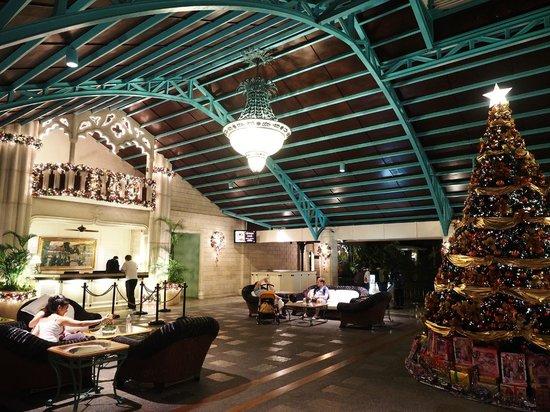 Plantation Bay Resort And Spa : Open air lobby