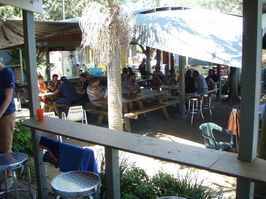 Surf Camp Australia: The main communal area