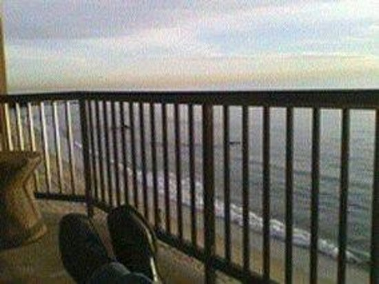 Surf & Sand Resort: Putting my feet up; The view from the Surf and Sand Balcony,