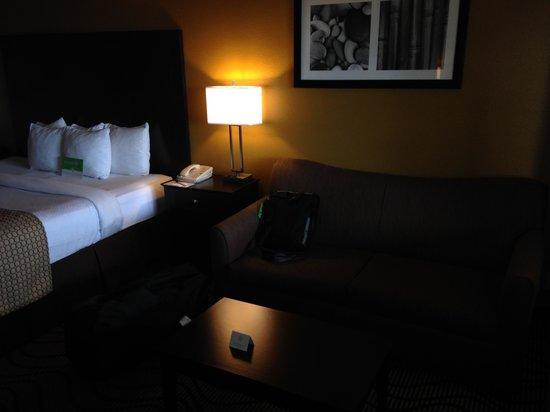La Quinta Inn & Suites San Diego Carlsbad: Sofa