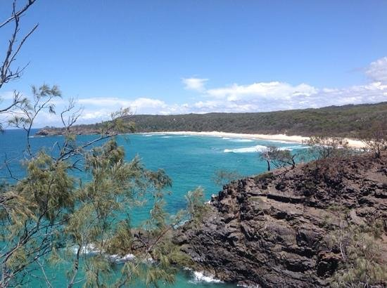 Noosa National Park: View near the end of the coastal track.