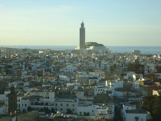 Sofitel Casablanca Tour Blanche: A great room with ocean and the Mosque view!