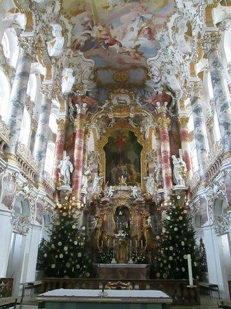 Wieskirche, Steingarden