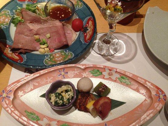 Matsunoya Kasen : お食事の一部