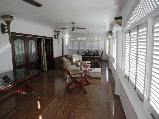 Le Bonheur Villa: Suite Veranda
