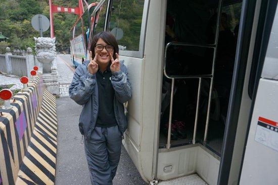 Silks Place Taroko: Our tour guide